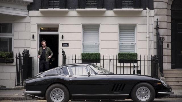 George Bamford and his Ferrari 275 GTB
